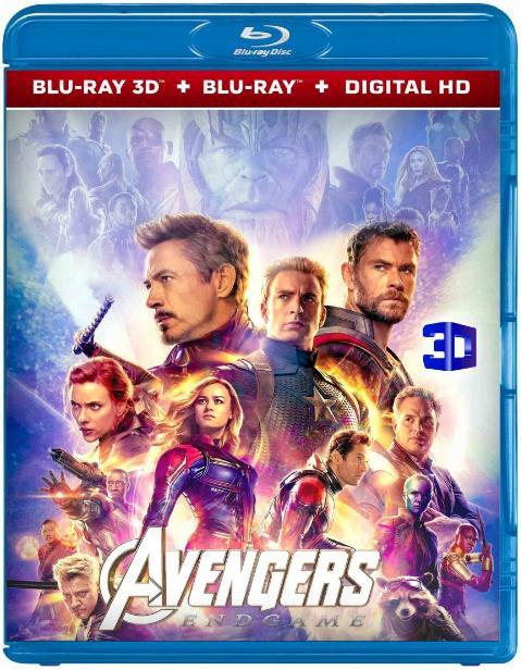 Avengers Endgame (2019) 3D HSBS 1080p BluRay x264-YIFY