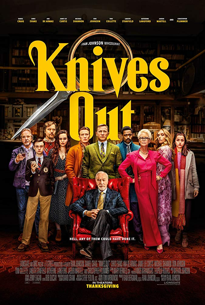 Knives Out 2019 720p BRRip XviD AC3-XVID