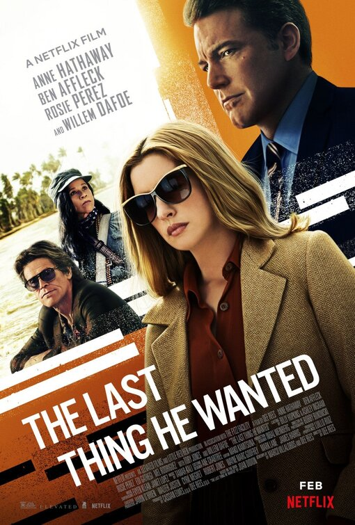 The Last Thing He Wanted 2020 720p WEBRip XviD AC3-FGT