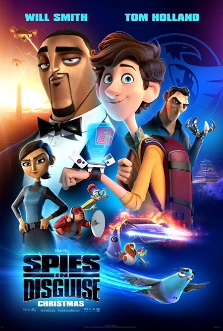 Spies In Disguise (2019) 720p BluRay 800MB x264-GalaxyRG
