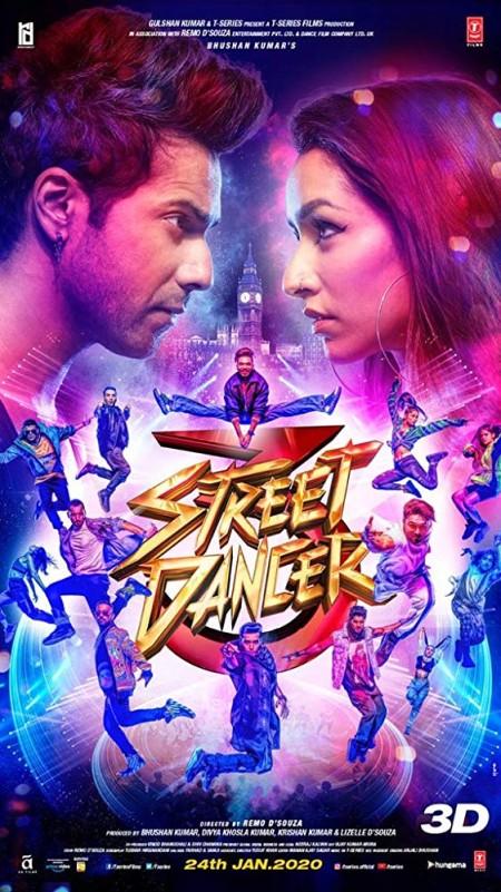 Street Dancer 3D 2020 Hindi 1080p AMZN WEBRip x264 DD 5 1 ESubs - LOKiHD - Telly