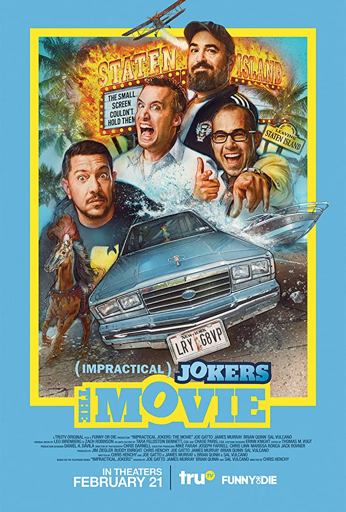 Impractical Jokers The Movie 2020 720p WEBRip X264 AAC 2 0-EVO