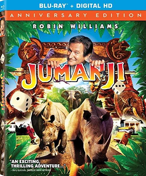 Jumanji (1995) 720p BRRip x264 Dual Audio AC3 Hindi DD 5.1 English-MA