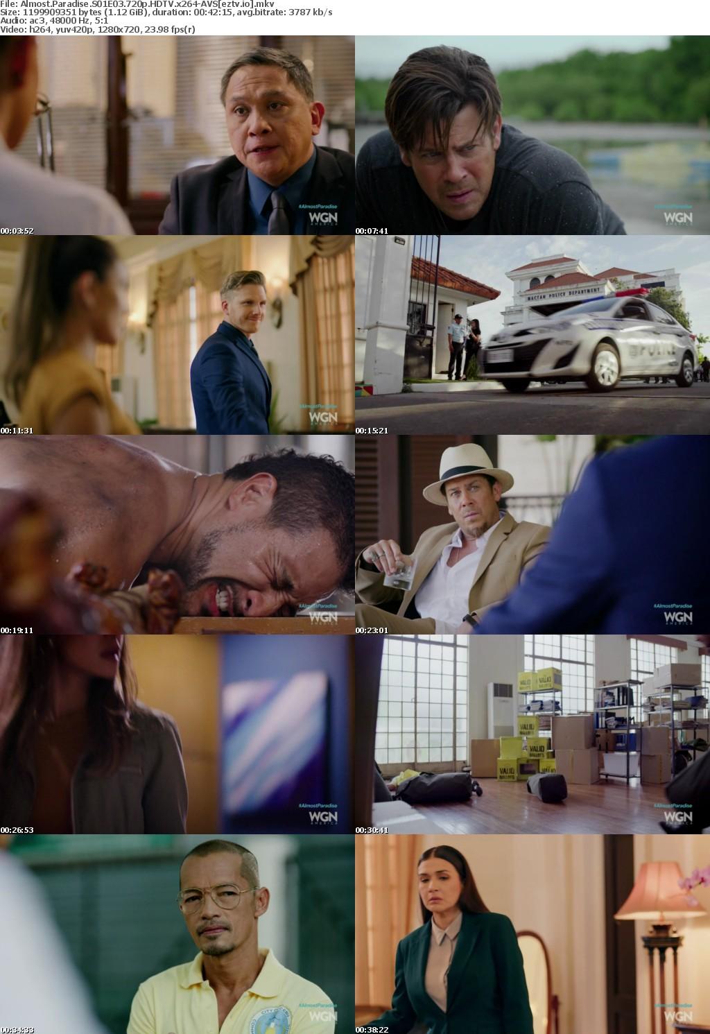 Almost Paradise S01E03 720p HDTV x264-AVS
