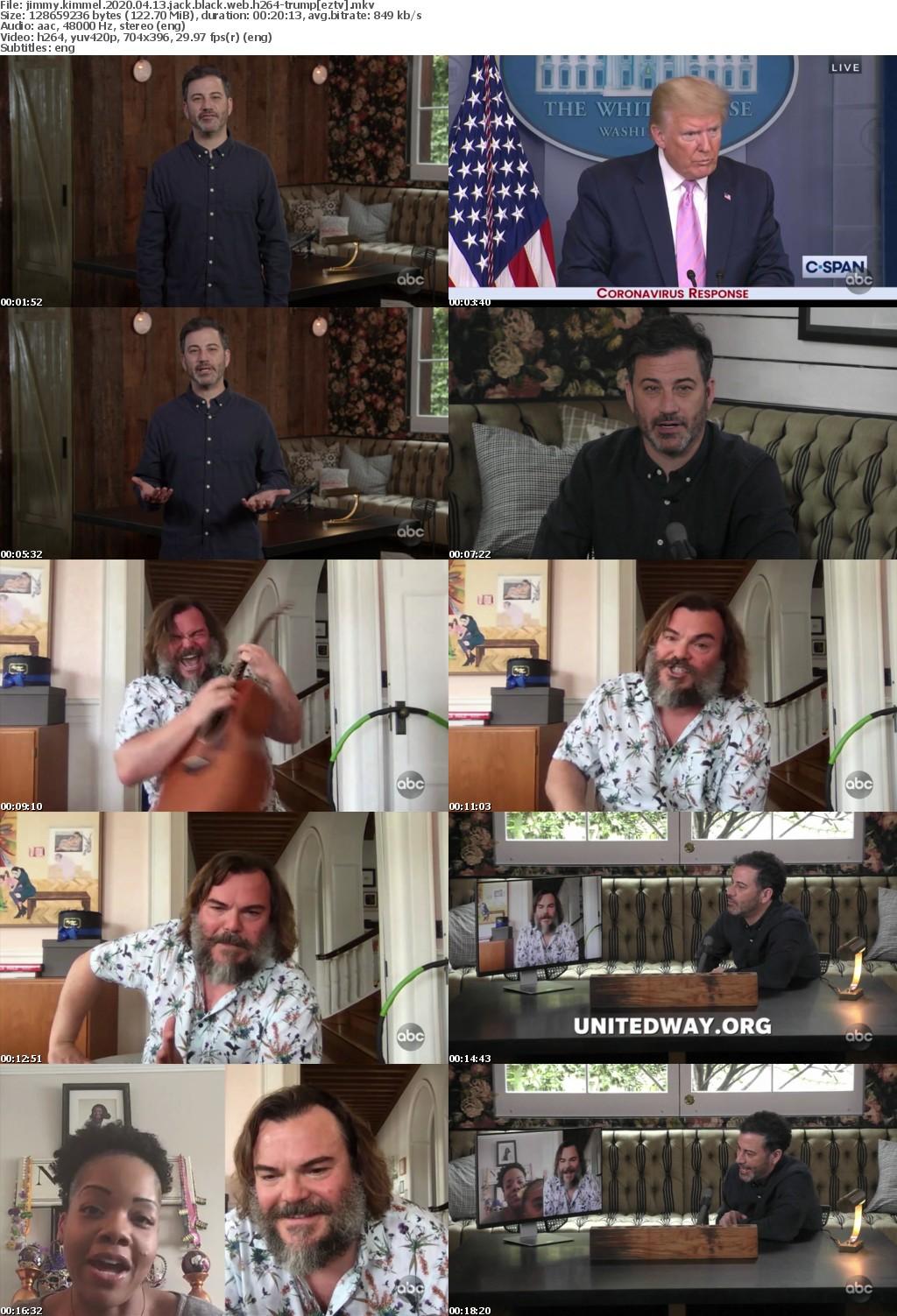 Jimmy Kimmel 2020 04 13 Jack Black WEB h264-TRUMP