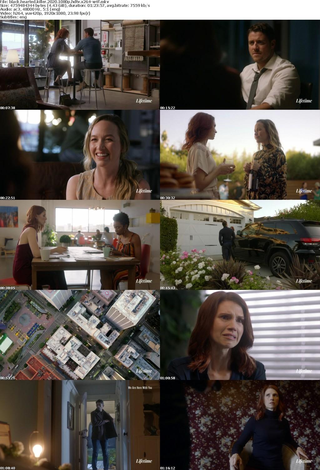 Black Hearted Killer 2020 1080p HDTV x264-W4F