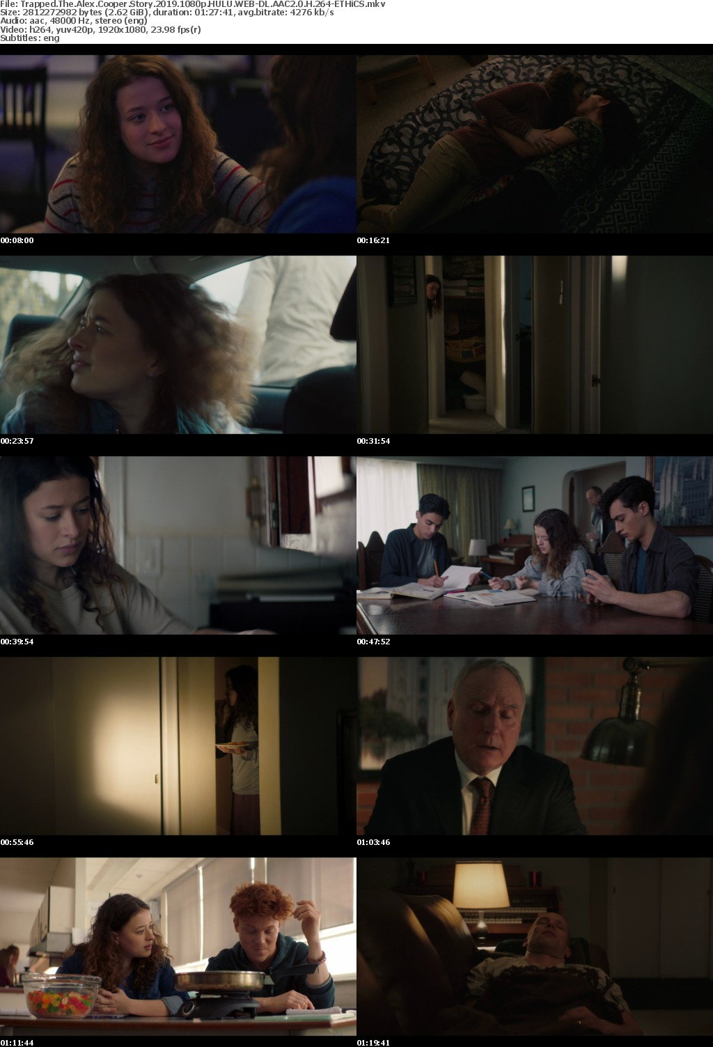 Trapped The Alex Cooper Story 2019 1080p HULU WEBRip AAC2 0 x264-ETHiCS