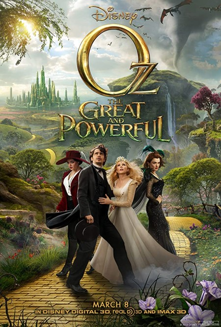 Oz the Great and Powerful (2013)Mp-4 X264 Dvd-Rip 480p AACDSD