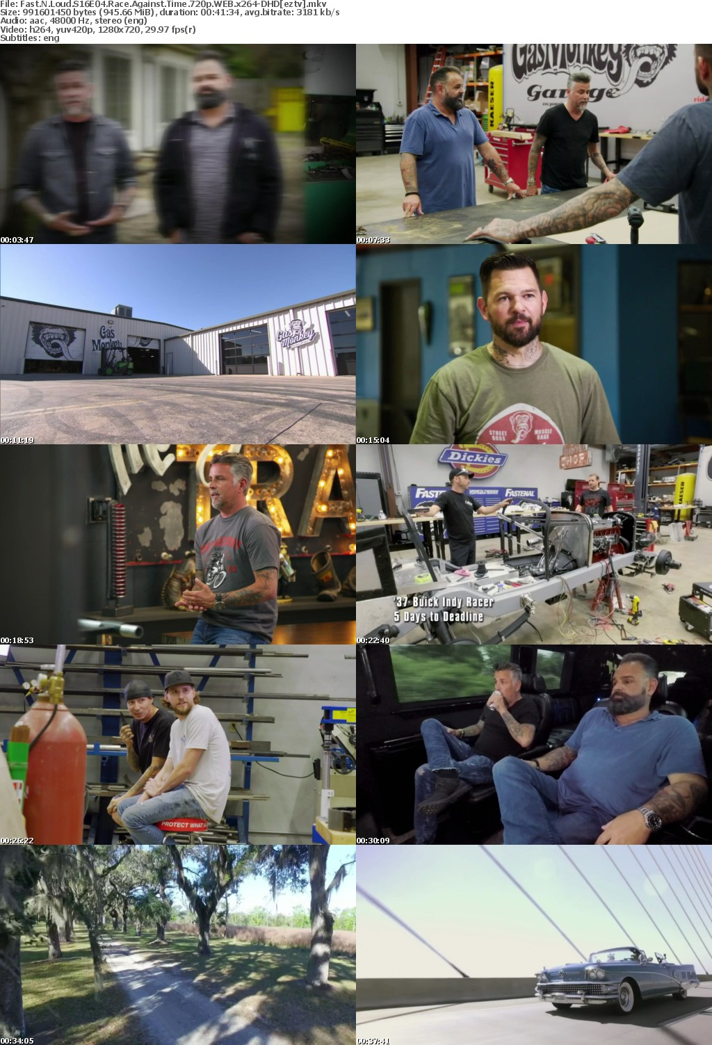 Fast N Loud S16E04 Race Against Time 720p WEB x264-DHD