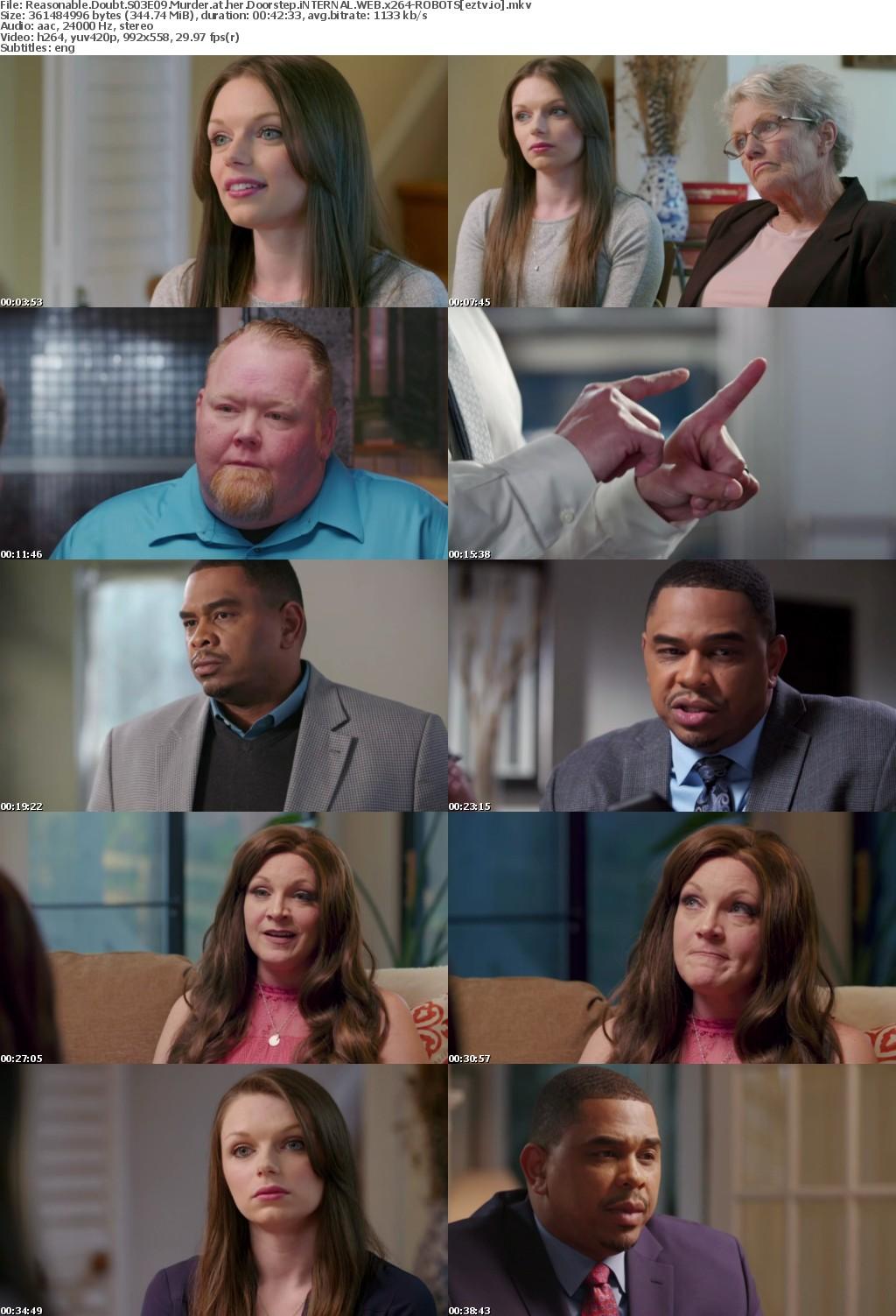 Reasonable Doubt S03E09 Murder at her Doorstep iNTERNAL WEB x264-ROBOTS