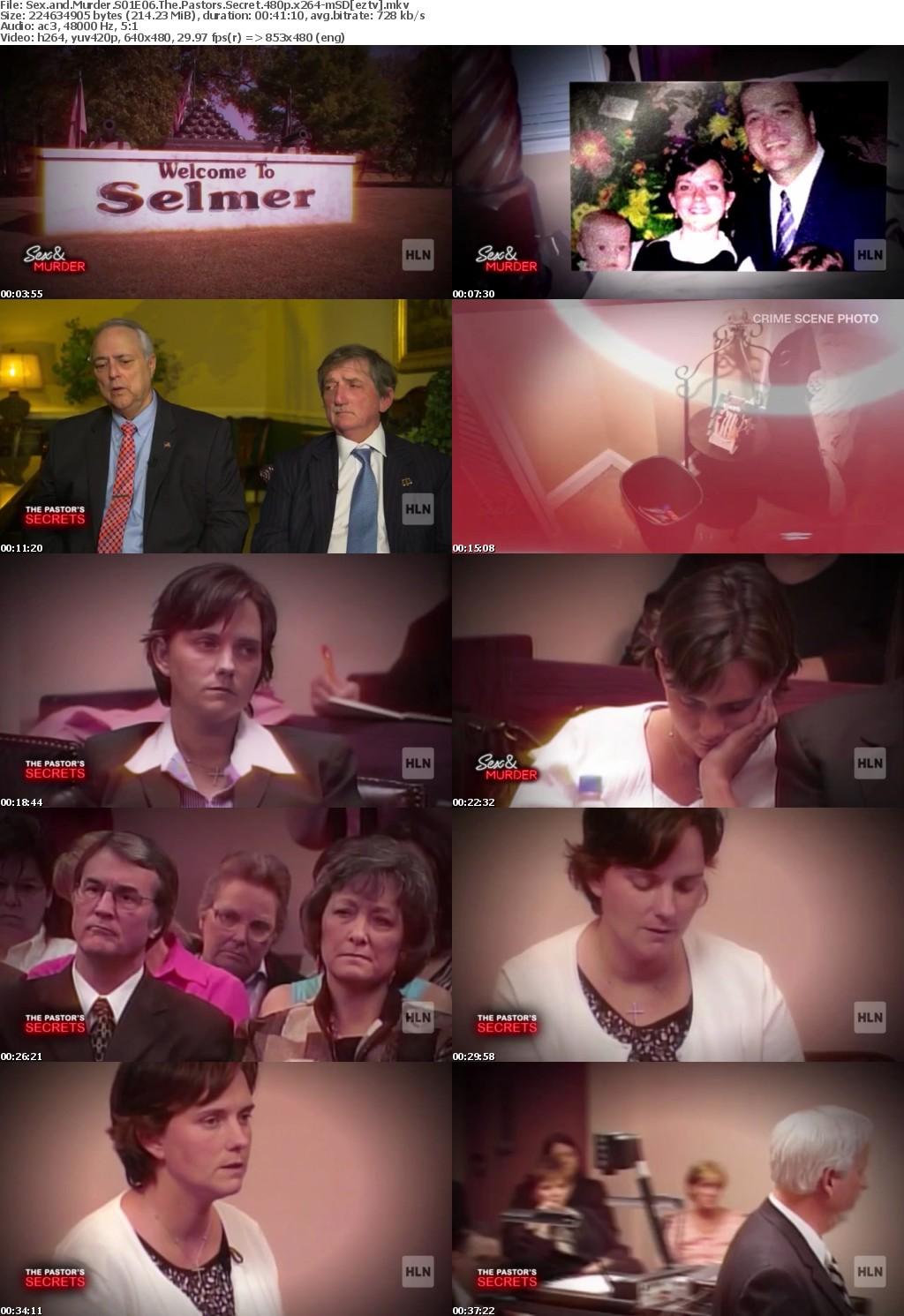 Sex and Murder S01E06 The Pastors Secret 480p x264-mSD