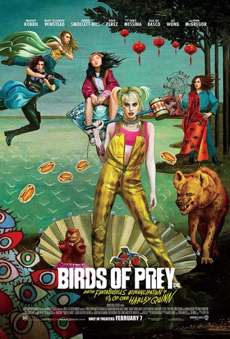 Birds of Prey And the Fantabulous Emancipation of One Harley Quinn 2020 1080p BluRay 1400MB DD5 1 x264-GalaxyRG