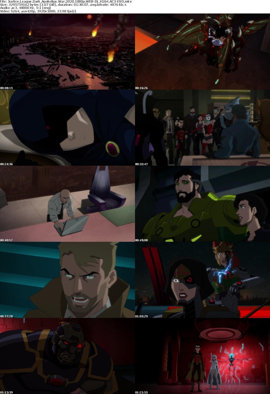Justice League Dark Apokolips War (2020) 1080p WEB-DL H264 AC3-EVO