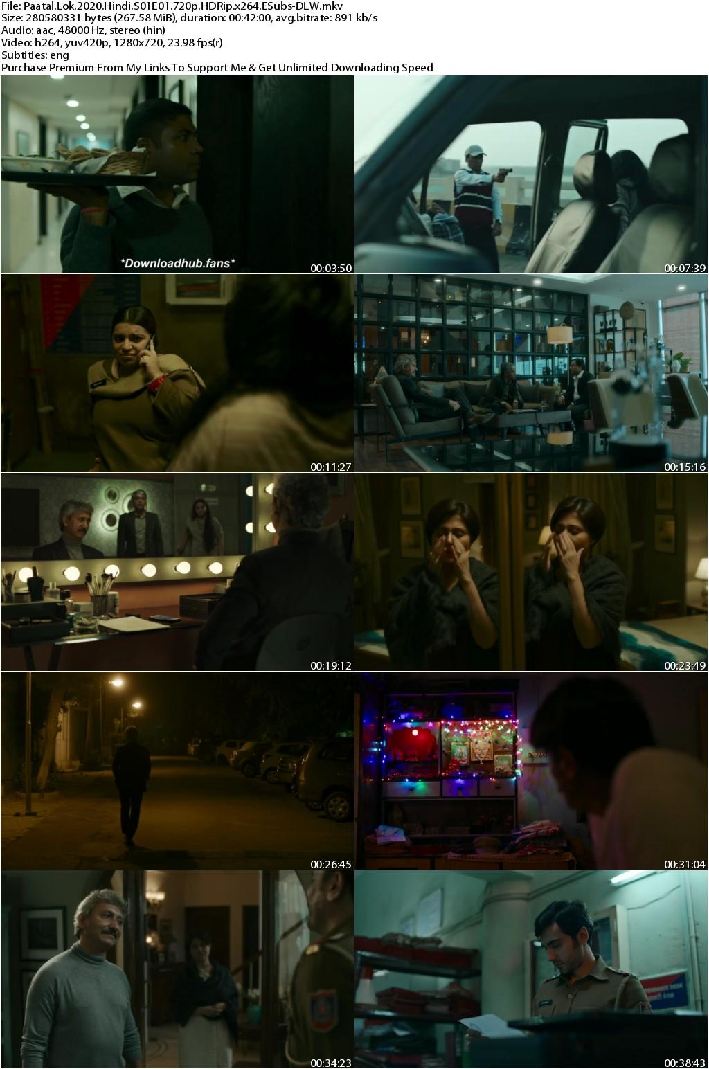 Paatal Lok 2020 Hindi Season 01 Complete 720p HDRip x264 ESubs-DLW