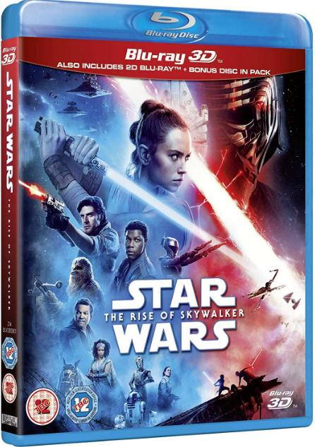Star Wars Episode IX - The Rise Of Skywalker (2019) 1080p 3D BluRay HSBS x2 ...