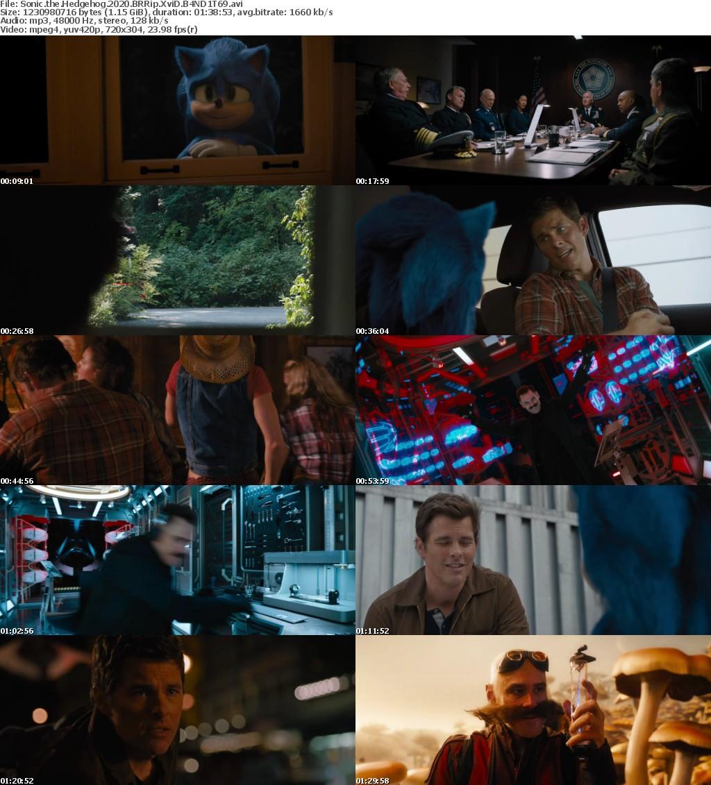 Sonic the Hedgehog (2020) BRRip XviD B4ND1T69