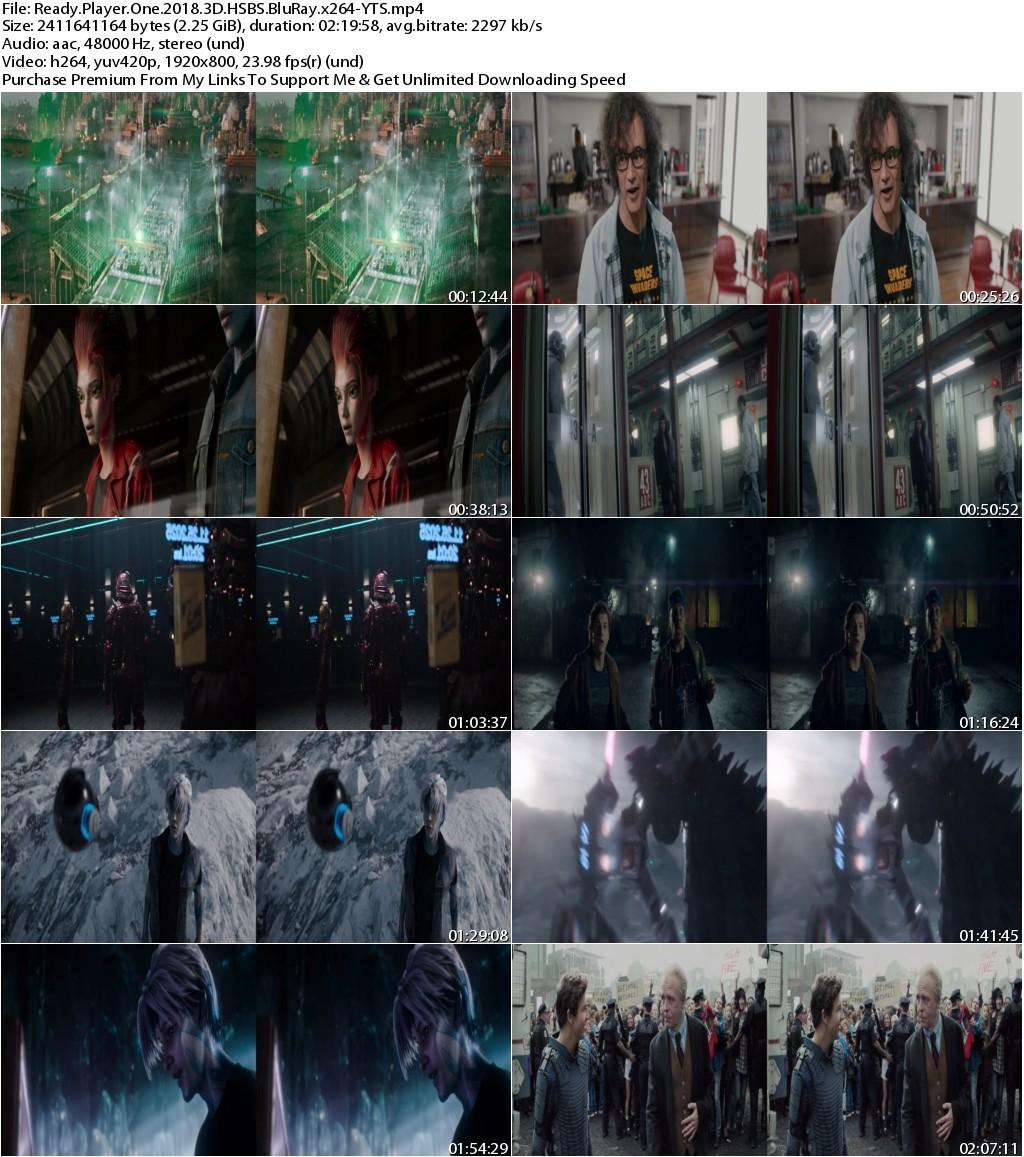 Ready Player One (2018) 3D HSBS 1080p BluRay x264-YTS