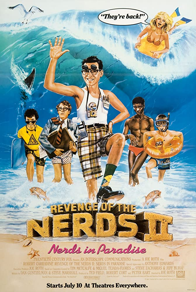 Revenge of the Nerds II Nerds in Paradise (1987) [720p] [WEBRip] [YTS MX]