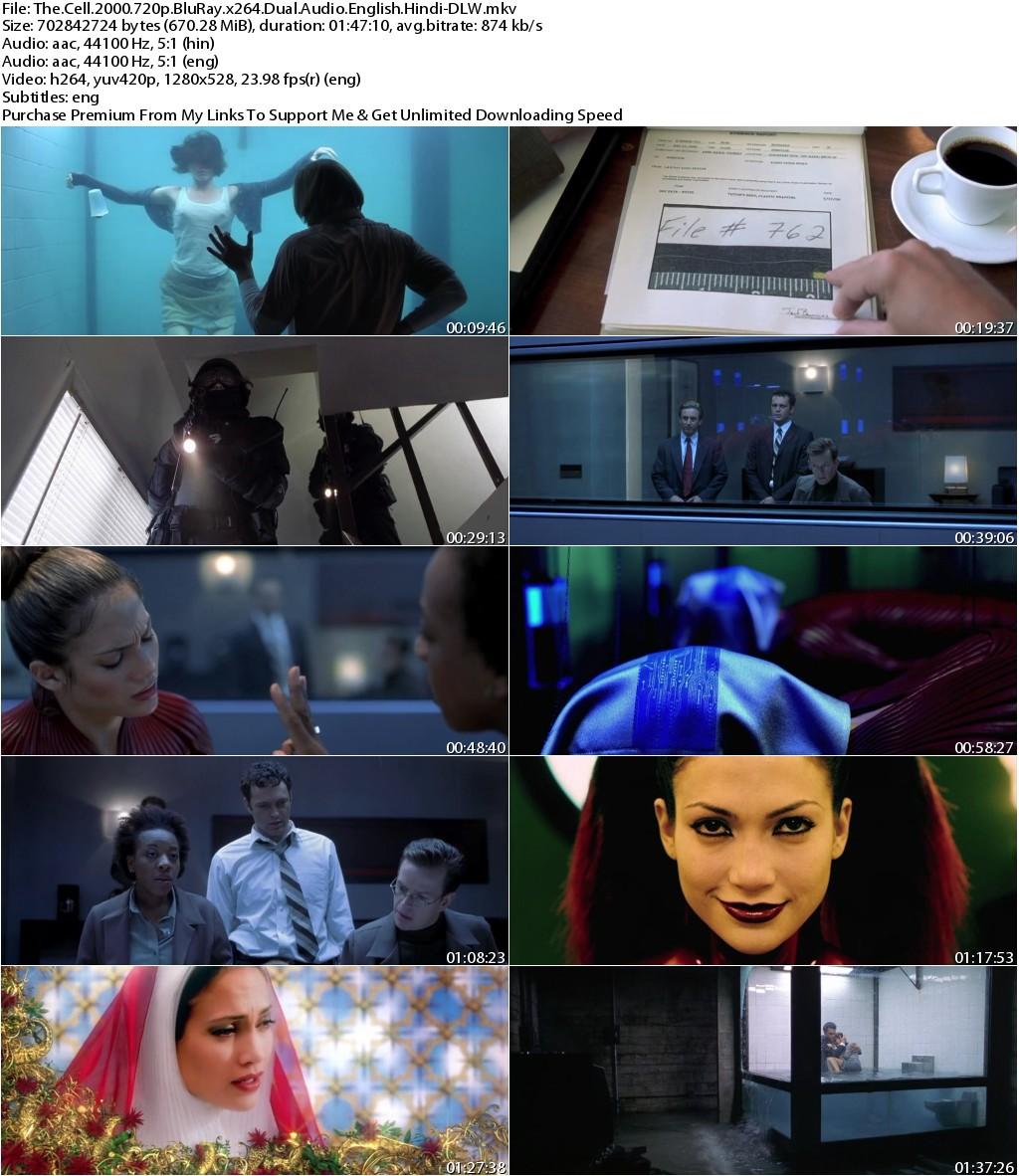 The Cell (2000) 720p BluRay x264 Dual Audio English Hindi-DLW