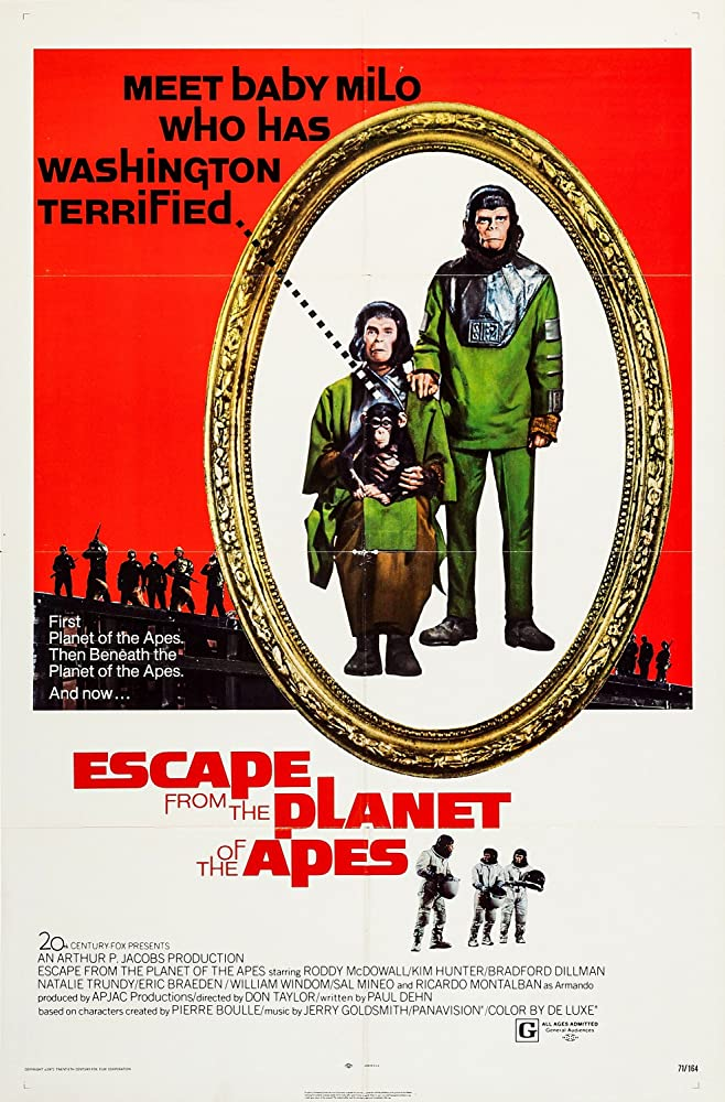 Escape from the Planet of the Apes (1971) [720p] [BluRay] [YTS MX]