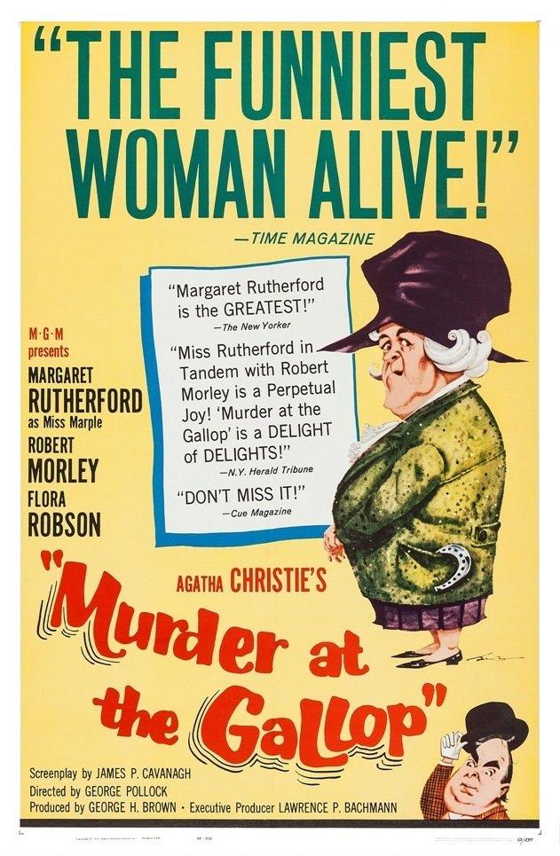 Murder at the Gallop (1963) [720p] [WEBRip] [YTS MX]