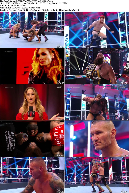 WWE Backlash 2020 PPV 720p WEBRip x264-DLW