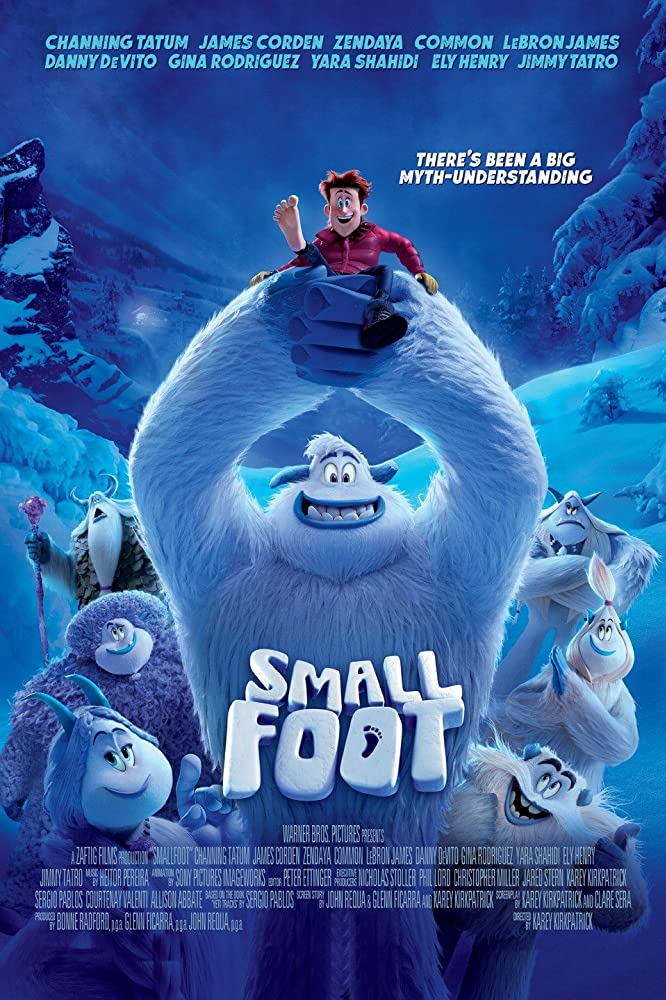 Smallfoot (2018) [1080p 3D] [BluRay] [YTS MX]