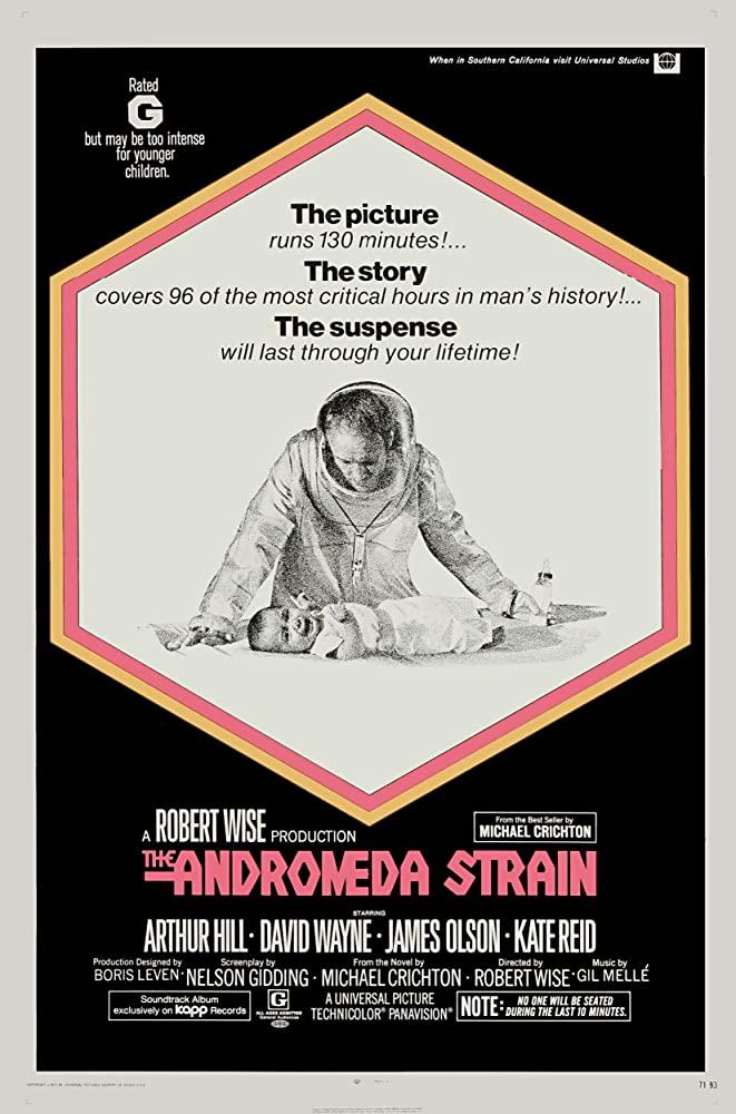 The Andromeda Strain 1971 REMASTERED 1080p BluRay x265-RARBG