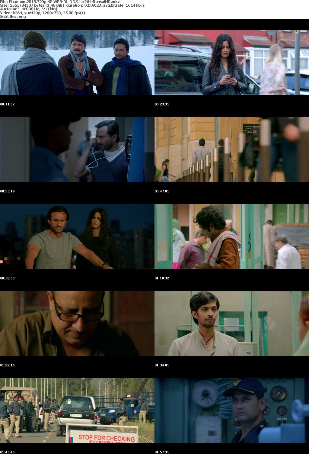 Phantom (2015) Hindi 720p NF WEB-DL 1 5 GB DD-5 1 ESub x264 - Shadow (BonsaiHD)