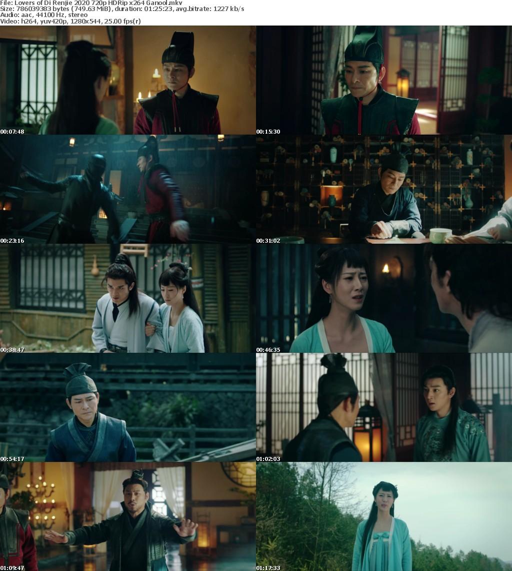 Lovers of Di Renjie 2020 720p HDRip x264 Ganool