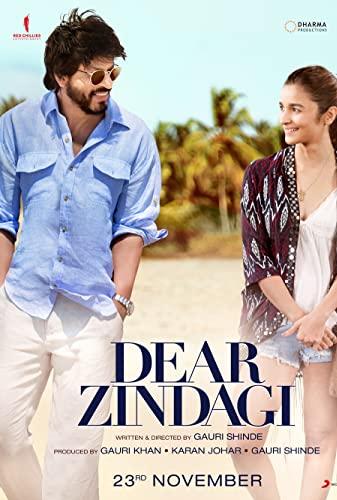 Dear Zindagi (2016) [720p] [BluRay] [YTS MX]