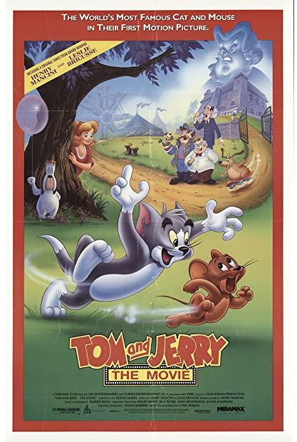 Tom and Jerry The Movie 1993 720p WEB-DL x264 650MB-Mkvking