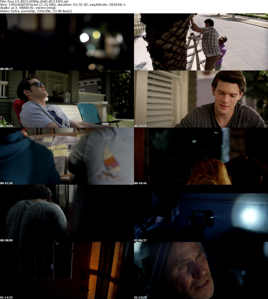Day 13 2021 HDRip XviD AC3-EVO