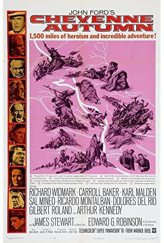 Cheyenne Autumn 1964 1080p WebRip H264 AC3 DD2 0 Will1869