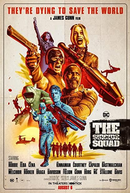 The Suicide Squad (2021) 1080p WEBRip x264 English 5 1 AC3 ESub - SP3LL