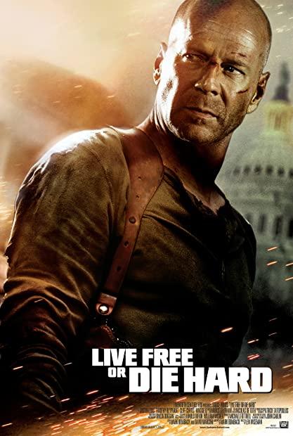 Live Free Or Die Hard (2007) 720p BluRay x264 Dual Audio Hindi English AC3 5 1 - SP3LL